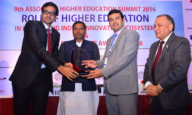 "Sagar Institute was awarded for being the ""Best Upcoming Engineering Institute of India"" by ASSOCHAM."
